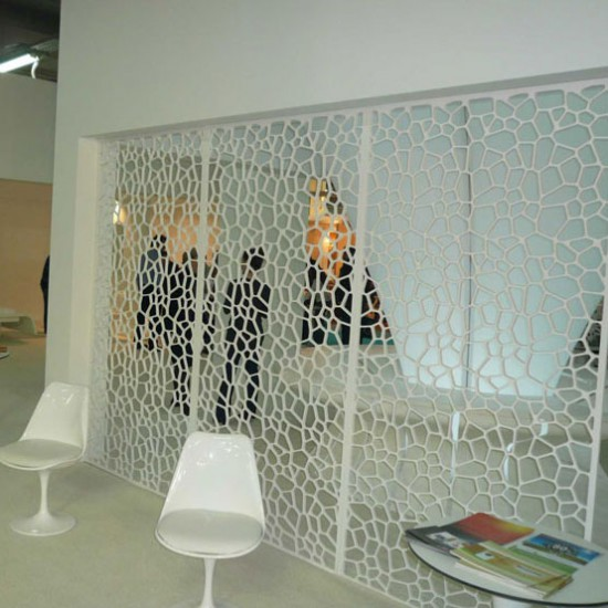 PVT Screen, Rominndeling Showroom