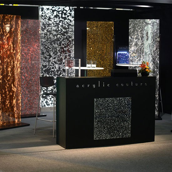 "INTERZUM ""Messe"" Acrylic Couture Stand"