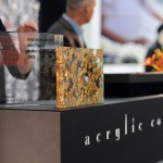 "INTERZUM ""acrylic couture"" Stand, BARK Sample"