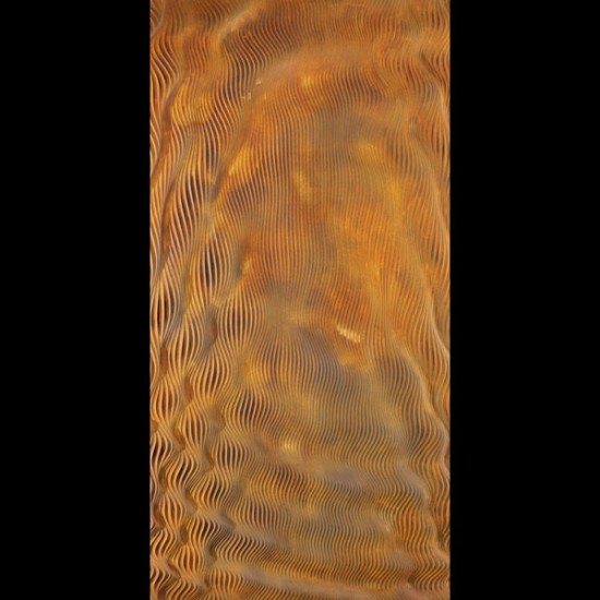 COU 003, Full Str 1220x2440mm – Singel Panel, Rust Metallic Paint