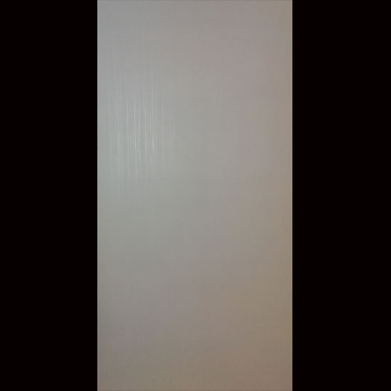 "HEATHER ""Motion I"" White Paintable, Full Str. Vertikal"