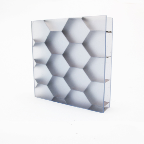HEXABEN Large, Clear S (Satin)