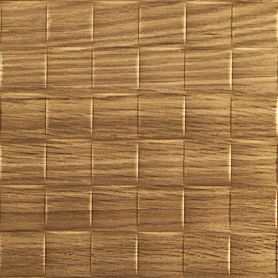 1 INCH WEAVE, Natural Red Oak Finér