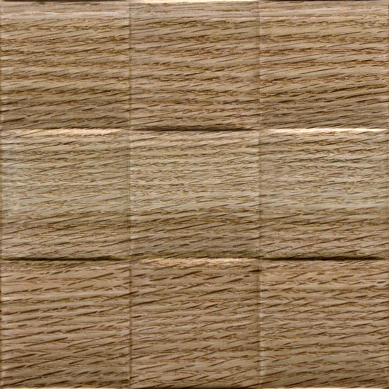2 INCH WEAVE, Natural Red Oak Finér