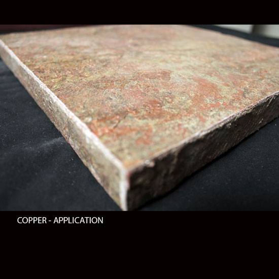 COPPER, MicroThin Slate – Application