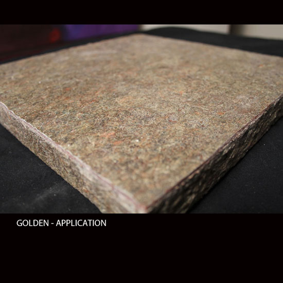 GOLDEN, MicroThin Slate – Application