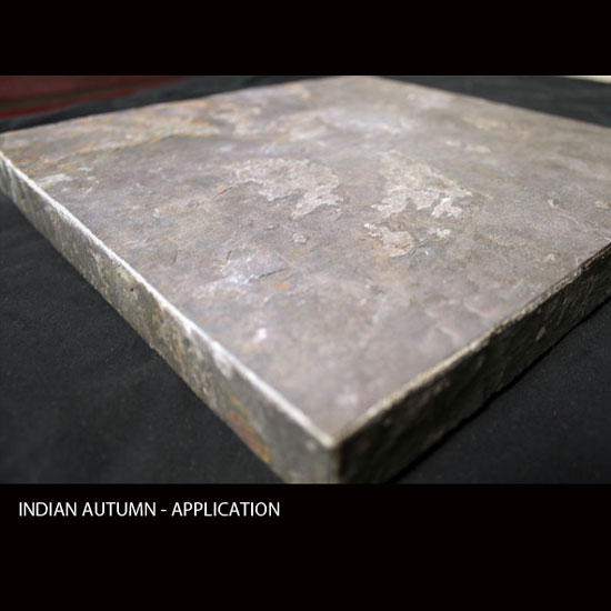 INDIAN AUTUMN, MicroThin Slate – Application