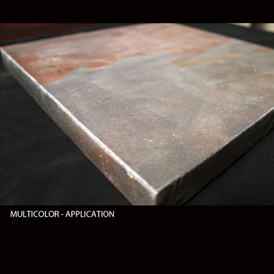 MULTICOLOR, MicroThin Slate – Application