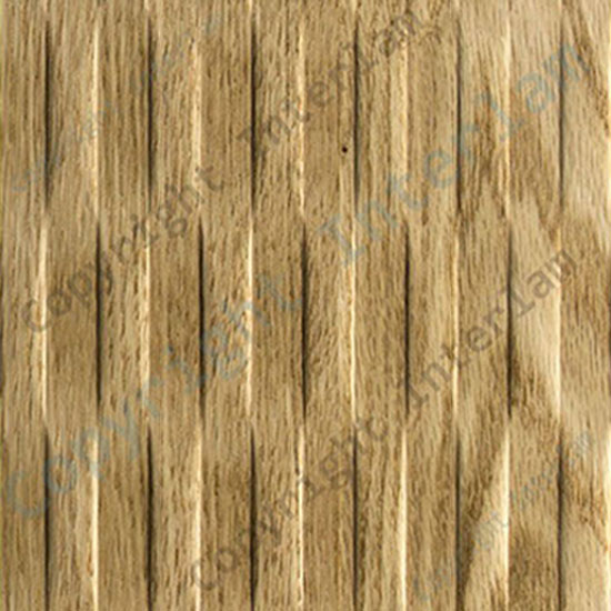 WAVE – VERTIKAL, Natural Red Oak Finér