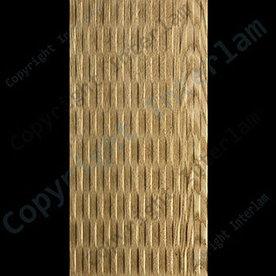 WAVE – VERTIKAL, Natural Red Oak, Full Str. 1220 x 2440mm