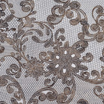 SOL, Soft Leather LACE White/ Vintage Brown